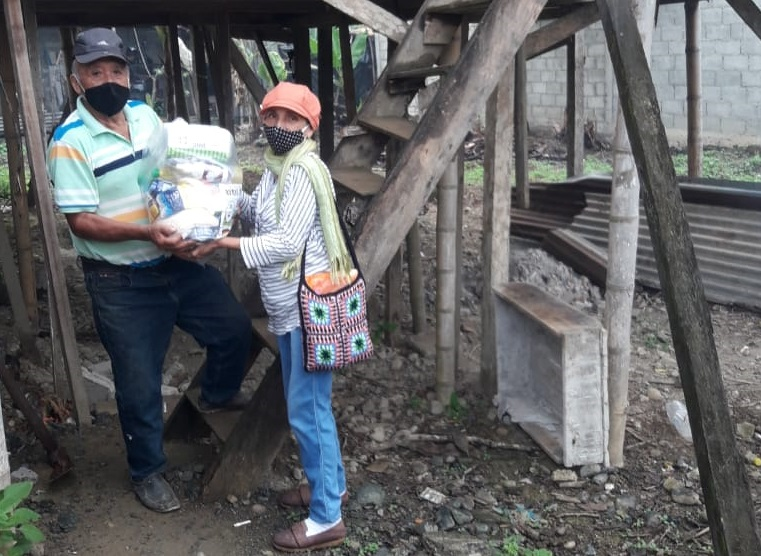 Ecuador / SINUTRABE impulsa   campaña    de prevención del   covid19 y ayuda humanitaria