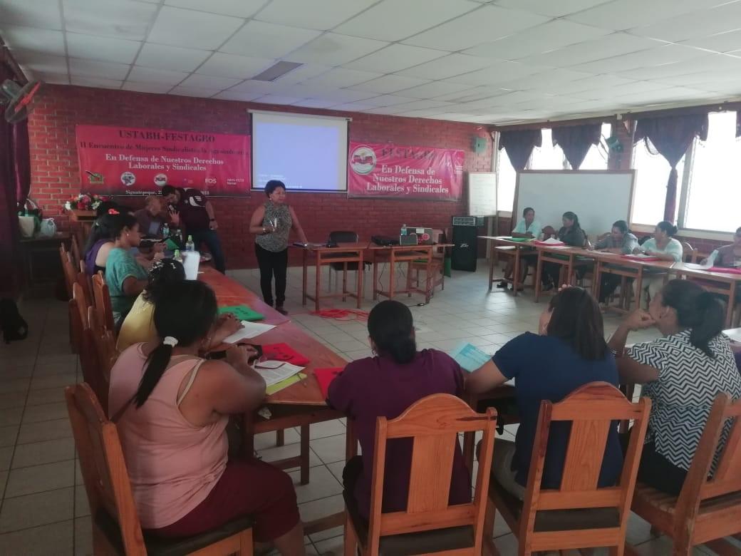 Segundo Encuentro de Mujeres Sindicalista de la Agroindustria