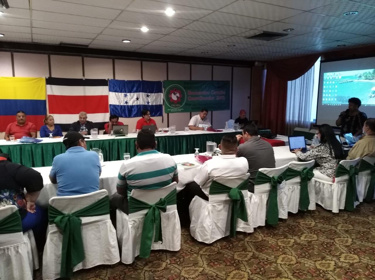 Se reunen Sindicalistas Agricolas de Latinoamerica en Honduras en Encuentro de la COLSIBA