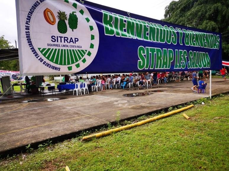 SITRAP conmemora el día la clase Trabajadora en las Bananeras
