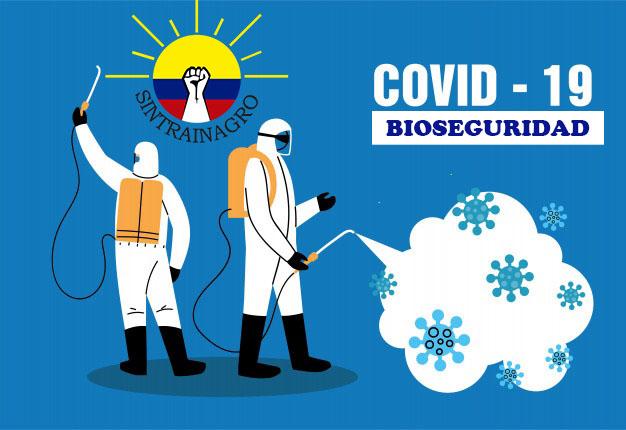 Colombia / Protocolos de bioseguridad Sintrainagro
